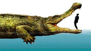 Największe prehistoryczne krokodyle w historii Ziemi