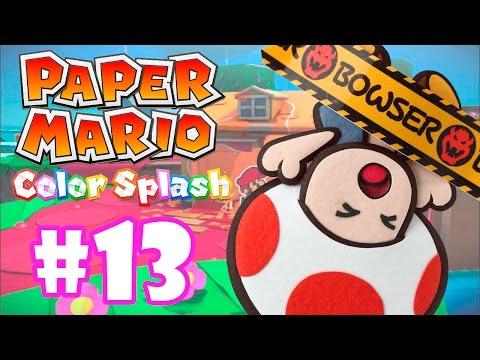 PAPER MARIO COLOR SPLASH #13 - TERRA DOS GIGANTES