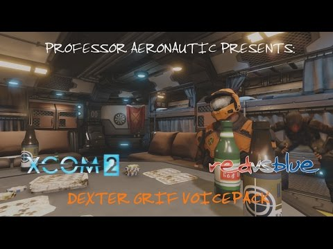 [XCOM 2] Red Vs. Blue - Dexter Grif Voice Pack Preview |