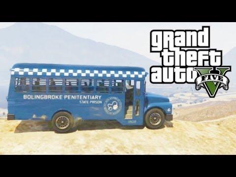 gta 5 secret cars prison bus gta v - Gta V Secret Cars