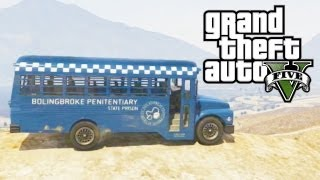 "GTA 5 Secret Cars - ""Prison Bus"" (GTA V)"