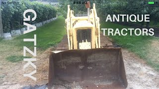 Antique Tractors #gatzkyorchard #farmequipment #tractor #antique