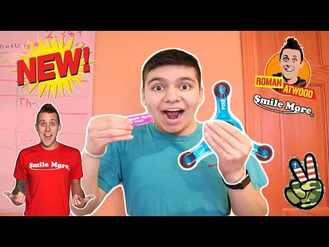 Thumbnail: UNBOXING ROMAN ATWOOD'S FIDGET SPINNER! (COOLEST NUMBER)