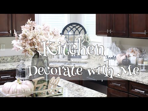 Fall Kitchen Decorate With Me | Fall Candle Haul