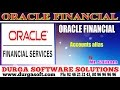 Oracle Finacial||online training||  Accounts alias by SaiRam