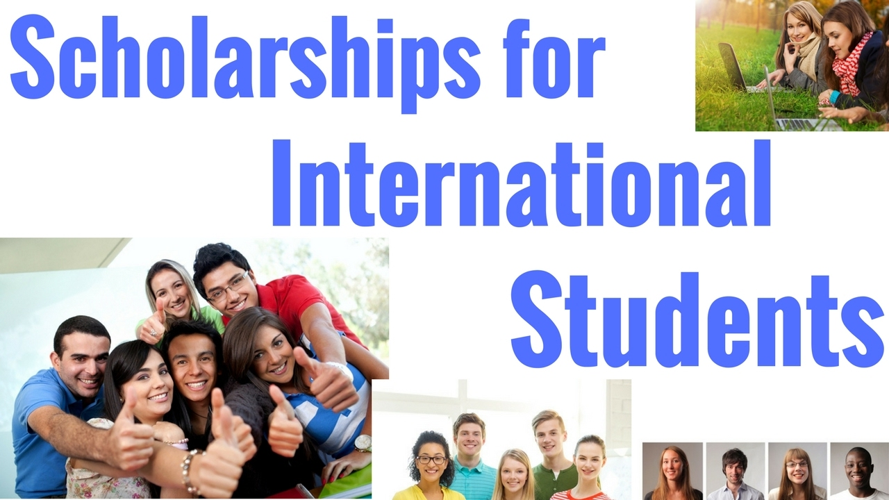 Scholarships for International Students - YouTube