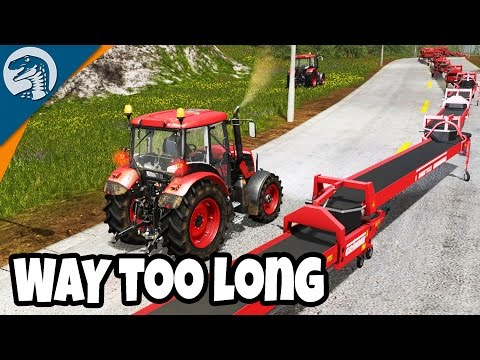 LONGEST CONVEYOR COMPLETED | Uncle Sam's Farm | Farming Simulator 17 Gameplay Ep. 8