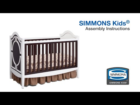 Simmons Kids® Hollywood 3-in-1 Crib Assembly Video