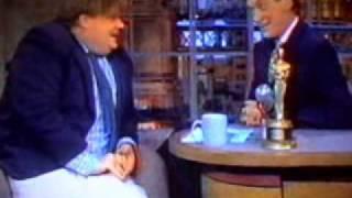 Chris Farley on Letterman 1995 (part 2)