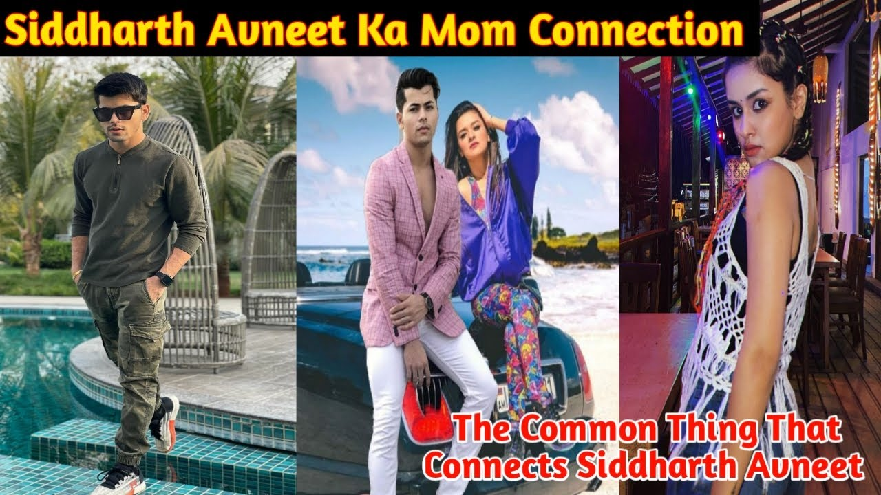 Download Siddharth Avneet Ka Mom Connection| Common Thing That Connects Sidneet| Both Have Same Stylist|