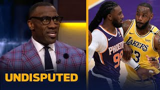 Skip & Shannon react to LeBron's Lakers being eliminated by Suns in first round | NBA | UNDISPUTED