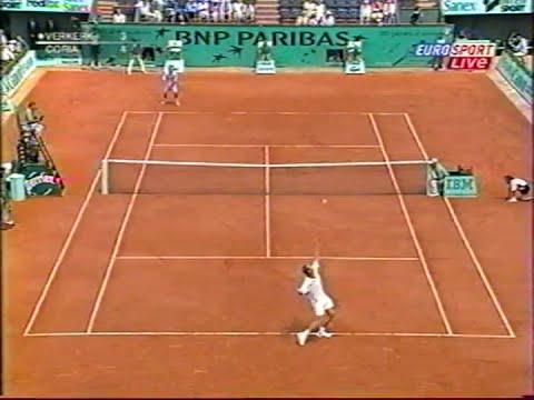 ATP Roland Garros 2003 Verkerk vs Coria SF