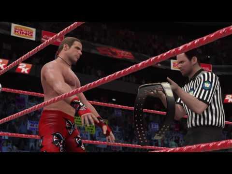 WWE 2K17 stone cold vs. Hbk wwf title match Wrestlemania XIV