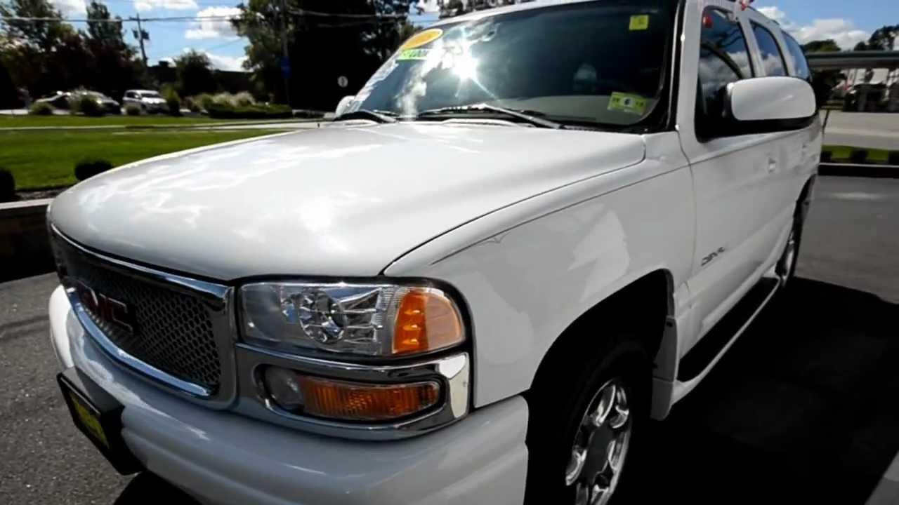 2005 gmc yukon denali loaded stk 28969a for sale at for Trend motors rockaway nj
