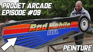 PROJET ARCADE #09 - RAD MOBILE - OUTRUN DELUXE