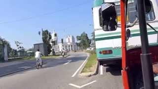 Driving through Colombo Sri Lanka - part 5