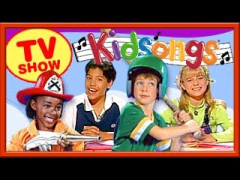 Kidsongs TV Show | When I Grow Up | Put On a Happy Face | Policeman Cowboy Baseball Songs | PBS Kids