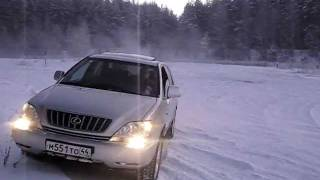 LEXUS RX300 in snow | Лексус RX300 в снегу