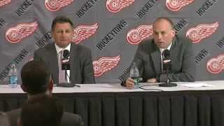 Watch live: Red Wings to introduce Jeff Blashill as new head coach