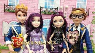 Descendentes X Ever After High - Comparativo Dolls - Julia Silva