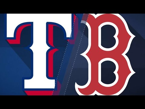 5/24/17: Red Sox pile on seven in 7th to down Rangers