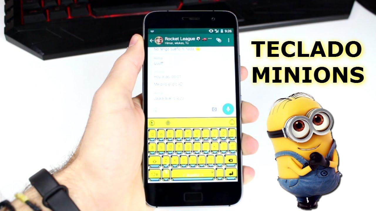Teclado de minions para android youtube for Imagenes de techados