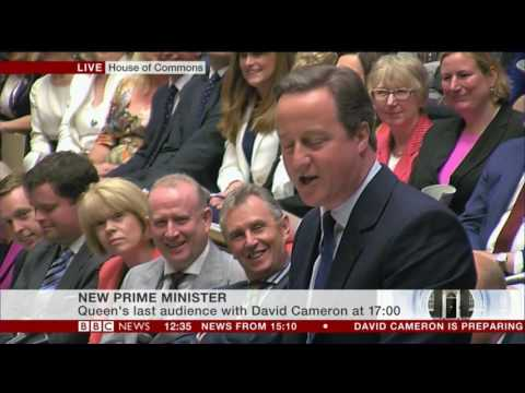 David Cameron's last words at Prime Ministers Questions before leaving office
