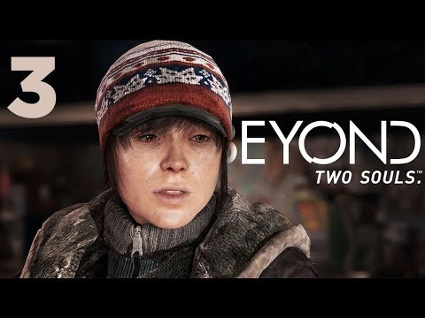THIS EPISODE GOT REAL!!   Beyond Two Souls   Lets Play - Part 3