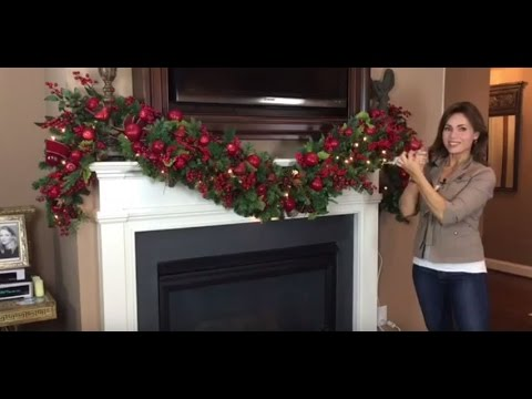 How To Create A Spectacular Christmas Garland For Your Mantel Full Length