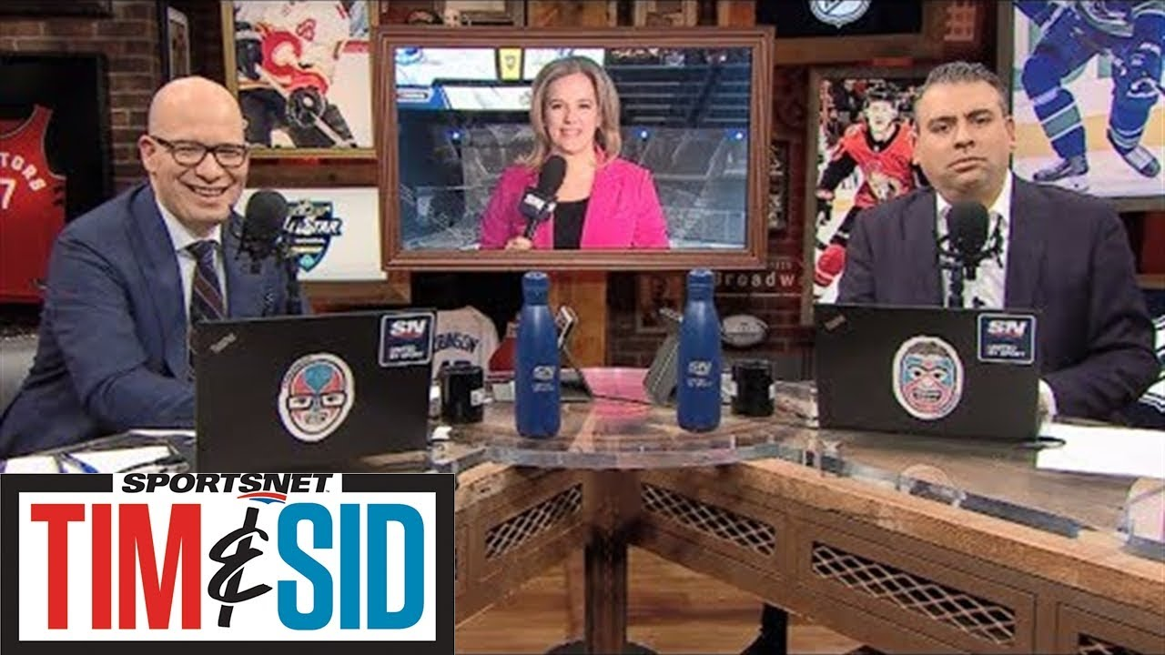 Cassie Campbell-Pascall On The NHL All-Star Weekend And Women's Hockey | Tim & Sid