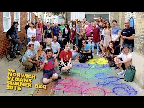 Norwich Vegans Summer BBQ 2016 ft Vegan Revolution