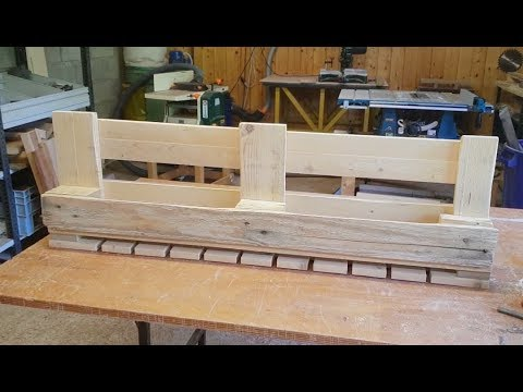 How To Make A Pallet Bottlerack