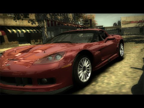 Need For Speed: Most Wanted - Chevrolet Corvette C6R Run