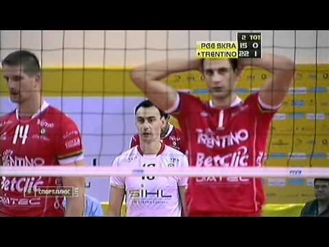 Trentino - Skra 21.12.2010, World Club Championship final, Doha, Qatar