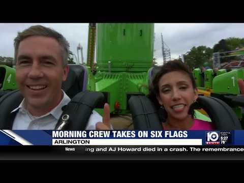 KWTX goes to Six Flags Over Texas