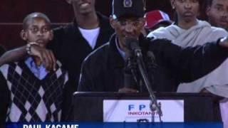 Kagame set for landslide in Rwandan presidential vote