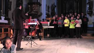 schola Maestroso Virtuoso Noc kostelů 2013