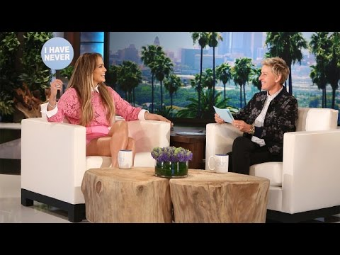 J.Lo and Ellen Play Never Have I Ever