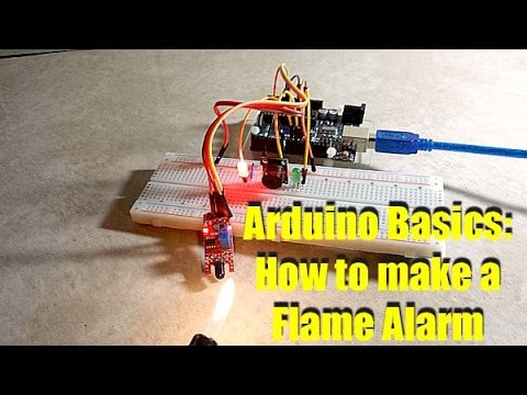 How to Make an Arduino Fire Flame Alarm