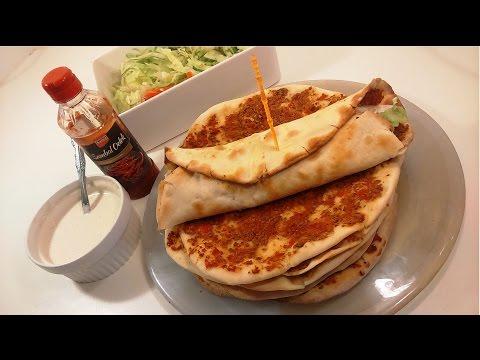 صورة  طريقة عمل البيتزا طريقة عمل البيتزا التركيه turkse pizza lahmacun pizza طريقة عمل البيتزا من يوتيوب