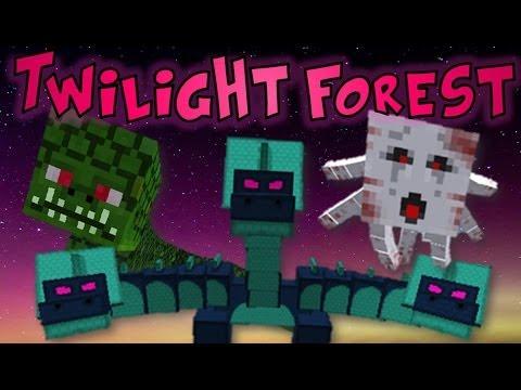Minecraft: Twilight Forest Boss Battle Epic! Hydra, Ur-Ghast & Naga Finale!