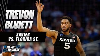 Xavier's Trevon Bluiett drops 29 points to oust Florida St.