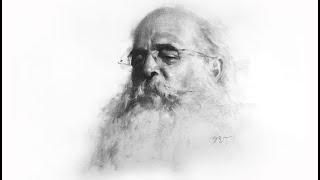 Zimou Tan | Art | How to draw a bearded man portrait demo.