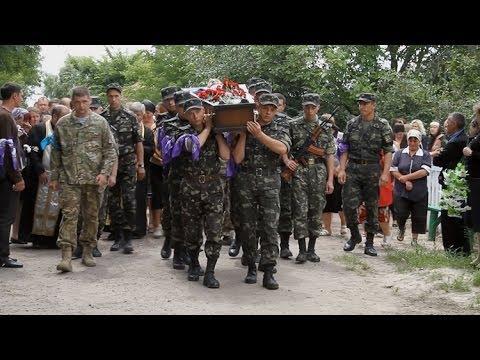 На Житомирщині прощалися