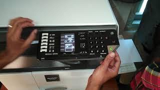 How To Use Sharp AR 6020, AR 6023 কীভাবে ব্যবহার করবেন। Page Setting, Switch এর পরিচিতি।