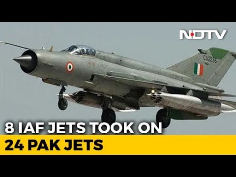 24 Pakistani Jets Tried To Cross Over, Stopped By 8 Air Force Fighters