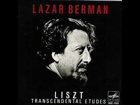 Liszt - Transcendental Etudes Nos. 1, 2 & 3 (Lazar Berman, pt. 1/7)