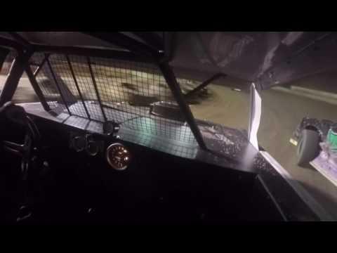 Hesston Speedway Brian Weyandt In car cam 8-20-16