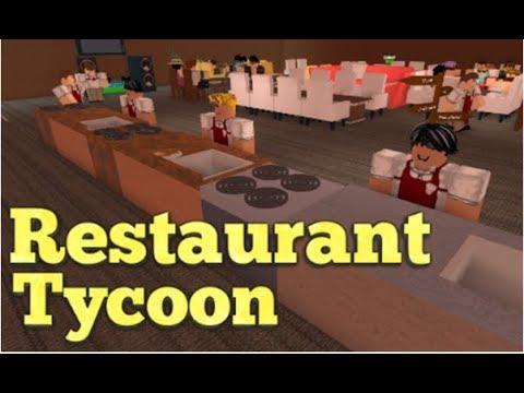 Roblox restaurant tycoon