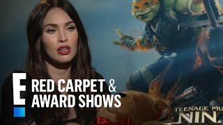 "Megan Fox Rocks Naughty School Girl Look in ""TMNT""   E! Red Carpet & Award Shows"